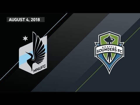 HIGHLIGHTS: Minnesota United FC vs. Seattle Sounders FC | August 4, 2018 thumbnail