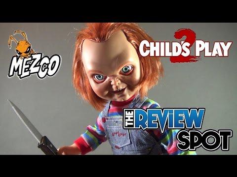 Collectible Spot - Mezco Toyz Childs Play 2 Talking Chucky Doll