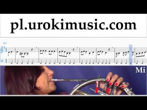 Nauka Gry Na Waltorni Jingle Bell Rock Nuty Poradnik Część 2 Um-i463