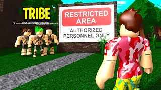 I Found A BLOXBURG TRIBE.. WHO THEY CAPTURED Will Shock You! (Roblox)