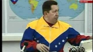 Chavez warns obama - chavez advierte a obama - Pedro Bou Sardañes Pere Bou