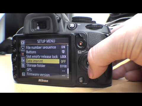 Nikon D3100 Menu functions Beginner guide Part 2