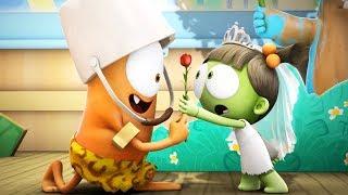 Cartoon | Spookiz | ❤️ Kebi's Love For Zizi ❤️  | 스푸키즈 | Funny Animated Cartoon For Kids