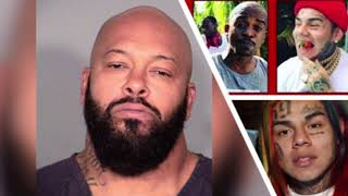 "SUGE KNIGHT Addresses TREYWAY & bIX9INE ""New DEATHROW"" Comments"