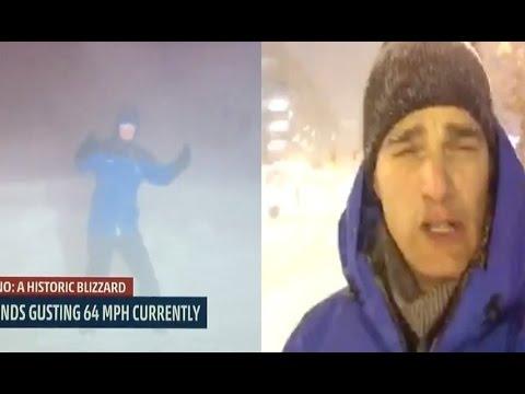Juno Blizzard 2015 Hits New York NY Long Island Boston Massachusetts New Jersey & NYC - Snow Storm!!