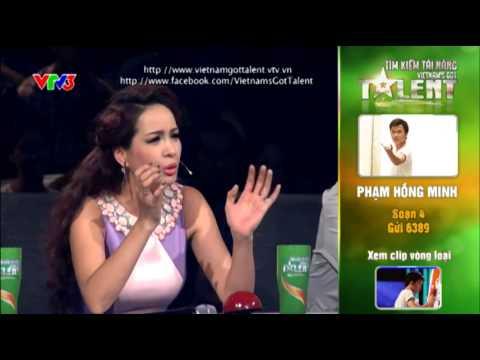 Vietnam's Got Talent 2012 - Bán Kết 3 - Phạm Hồng Minh - MS: 4
