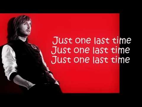 David Guetta - Just One Last Time ft. Taped Rai