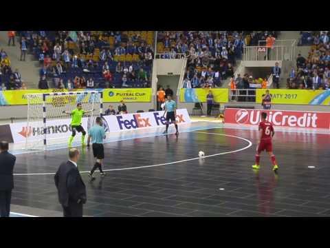 UEFA CUP FUTSAL Kairat vs ugra