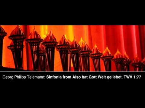 Телеман Георг Филипп - Also hat Gott die Welt geliebet