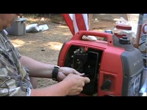 Repairing Honda Generator EU2000i