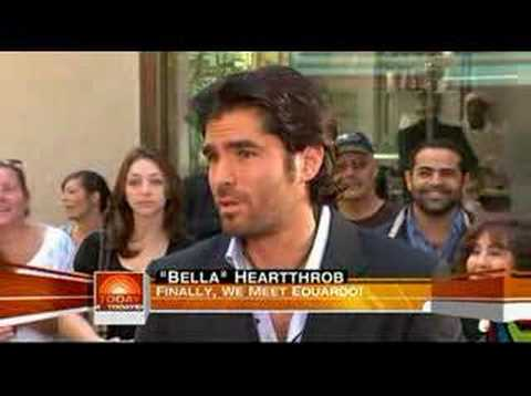 Eduardo Verastegui on the Todays Show Video
