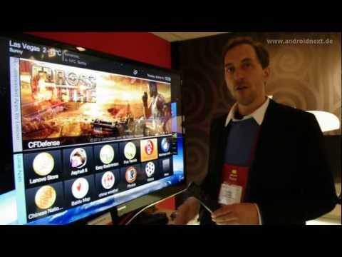 Lenovo IdeaTV K91 mit Android 4.0 Ice Cream Sandwich - Hands-On - CES 2012 - androidnext.de