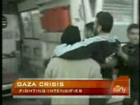 Gaza Fighting Intensifies