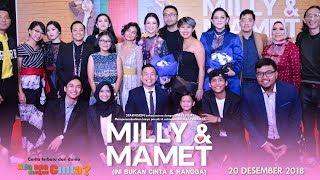 Download Lagu MILLY & MAMET (Ini Bukan Cinta & Rangga) - Gala Premier Gratis STAFABAND