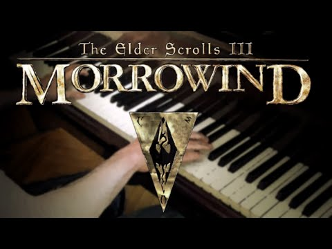 The Elder Scrolls 3 - Morrowind Theme on Piano Music Videos