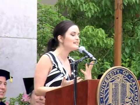 Danica McKellar, UCLA Dept. of Mathematics 2007 Commencement Address