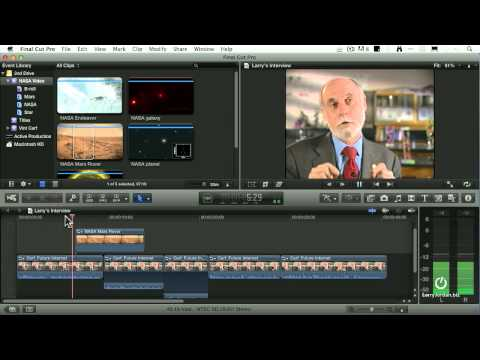 Pt 2 of 3 - Faster Editing in Final Cut Pro X