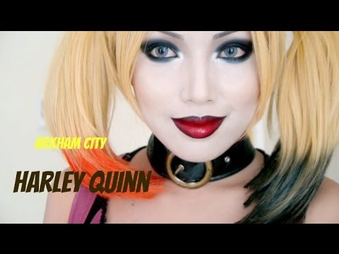 Harley Quinn Make-up Tutorial (Halloween 2013)
