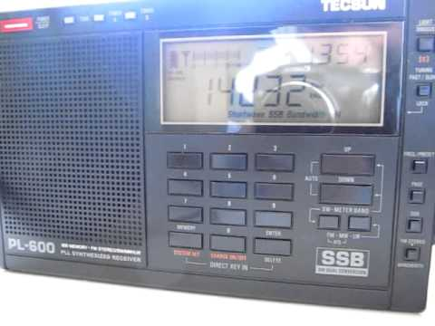 TECSUN PL-600 Two Way Ham Radio SW Band