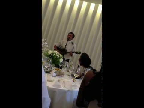 The best and funniest ending to a Groom speech ever! Mr & Mrs Lacey 2012