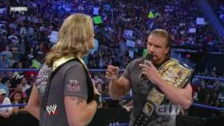 Triple H Returns to Smackdown! (2/2)