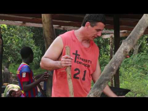 Jungle Walk with Jeff Hostetter Ghana West Africa