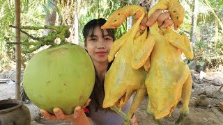 Yummy cooking chicken with coconut recipe - Cooking skill