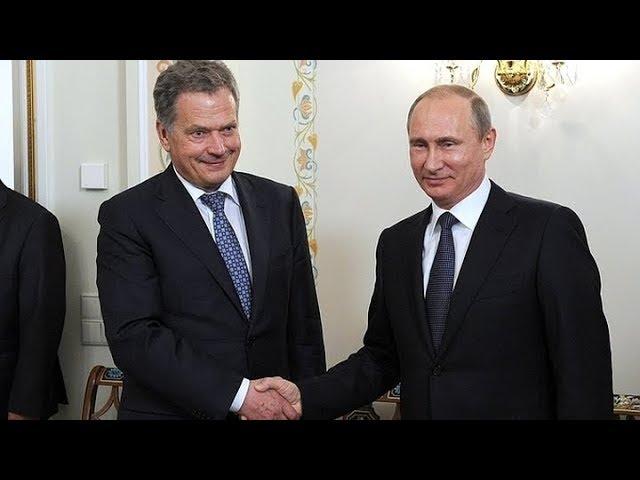 Пресс-конференция Владимира Путина и президента Финляндии Саули Ниинистё. Полное видео