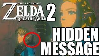 SECRET MESSAGE IN BREATH OF THE WILD SEQUEL TRAILER!