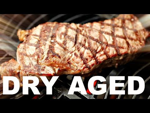 HOW TO DRY AGE STEAK - EASY DRY AGING  BEEF AT HOME