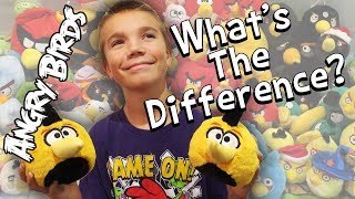 My Angry Birds Plush Collection - Differences / Duplicates (Family Vlog 12/9/2018)