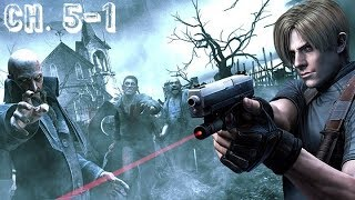 Resident Evil 4 HD walkthrough: [5-1ch.][Normal][The island]