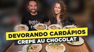 Crepe fest! 10 pounds of Crepe!! Feat. Ivna Corbucci
