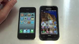 iPhone 4 Vs Samsung Galaxy S Video Review Part 2