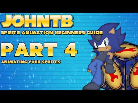 Sprite Animation - Beginners Guide #4: Animating and Aligning Your Sprites