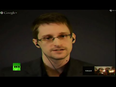 Snowden receives 'alternative Nobel Prize' 2014 (FULL RLA ACCEPTANCE SPEECH)
