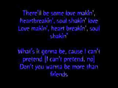 Lyrics of don let go
