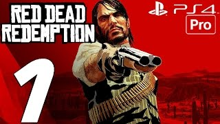 Red Dead Redemption (PS4) - Gameplay Walkthrough Part 1 - Prologue