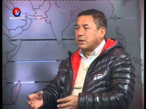 Ang Tshering Sherpa On Mountain Television