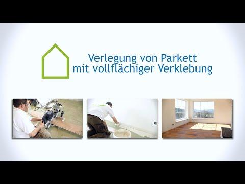 Parkett Verlegen (vollflächig Verkleben) | Casando Ratgeber