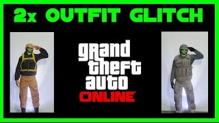 GTA 5 Online ✌ 2x Easy Outfit Glitch ✌ Leibwächter & Drop Zone Outfit bekommen ✌ PS4 One PC 1.32
