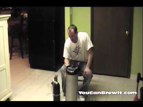 How to keg and force carbonate your beer - Homebrew Tutorial