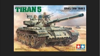 Tamiya 1/35 Tiran 5 Scale Model Review