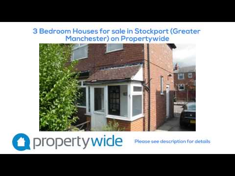 3 Bedroom Houses for sale in Stockport (Greater Manchester) on Propertywide