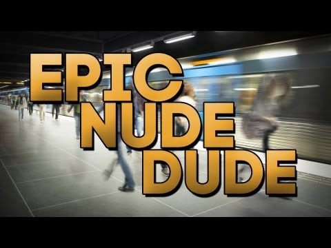 Naked Man Fights People, Does Gymnastics In San Francisco Subway