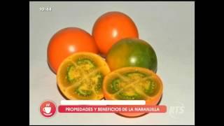 Propiedades y beneficios de la naranjilla