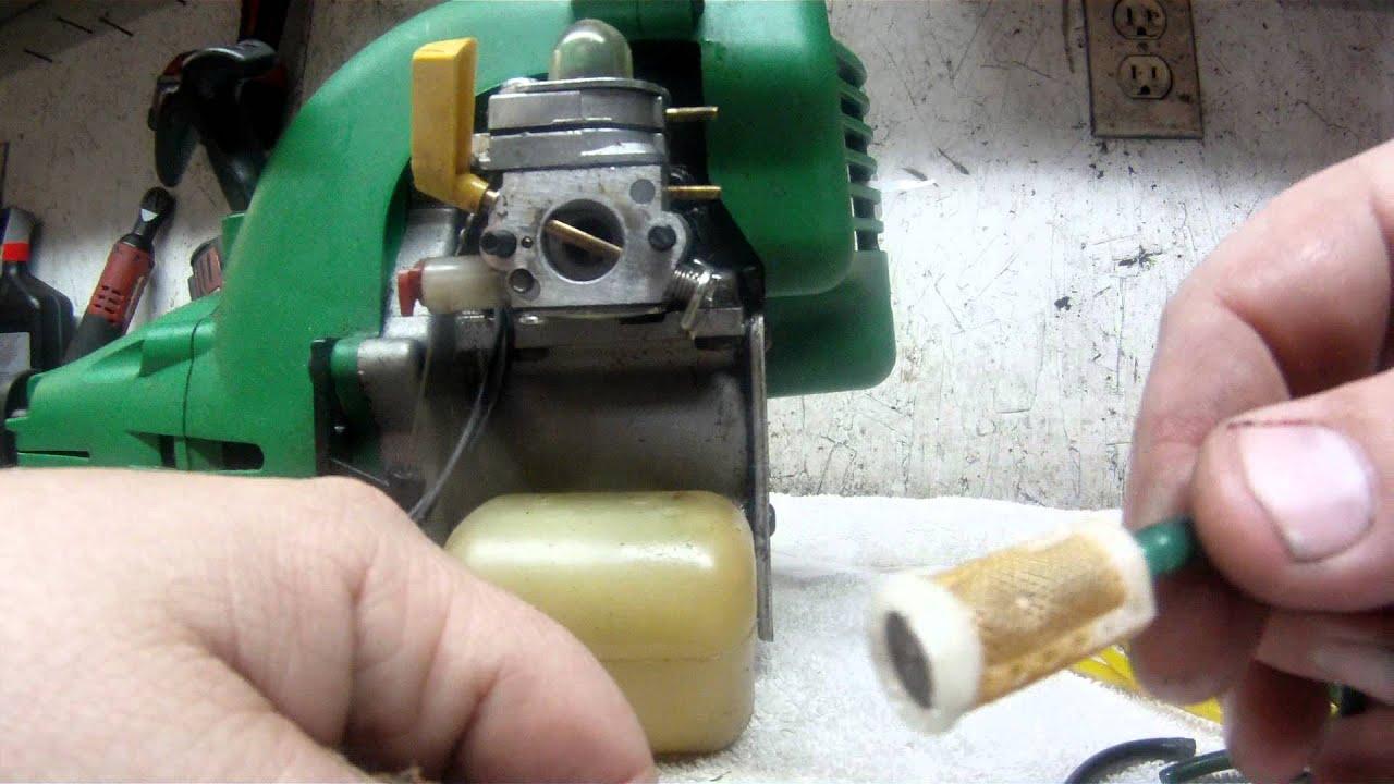 weedeater carburetor fuel filter replacement