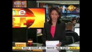 News 1st Prime time Sunrise Sirasa TV 6 15AM 17th October 2014