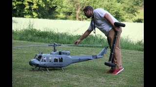 Giant Scale Helicopter RC Model Bell UH-1H  Iroquois