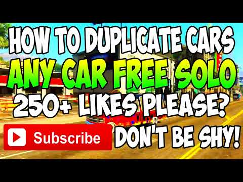 GTA 5 Online - SOLO Any Car Free Online After Patch 1.17 - FREE CARS (1.17 Solo Duplication Glitch)
